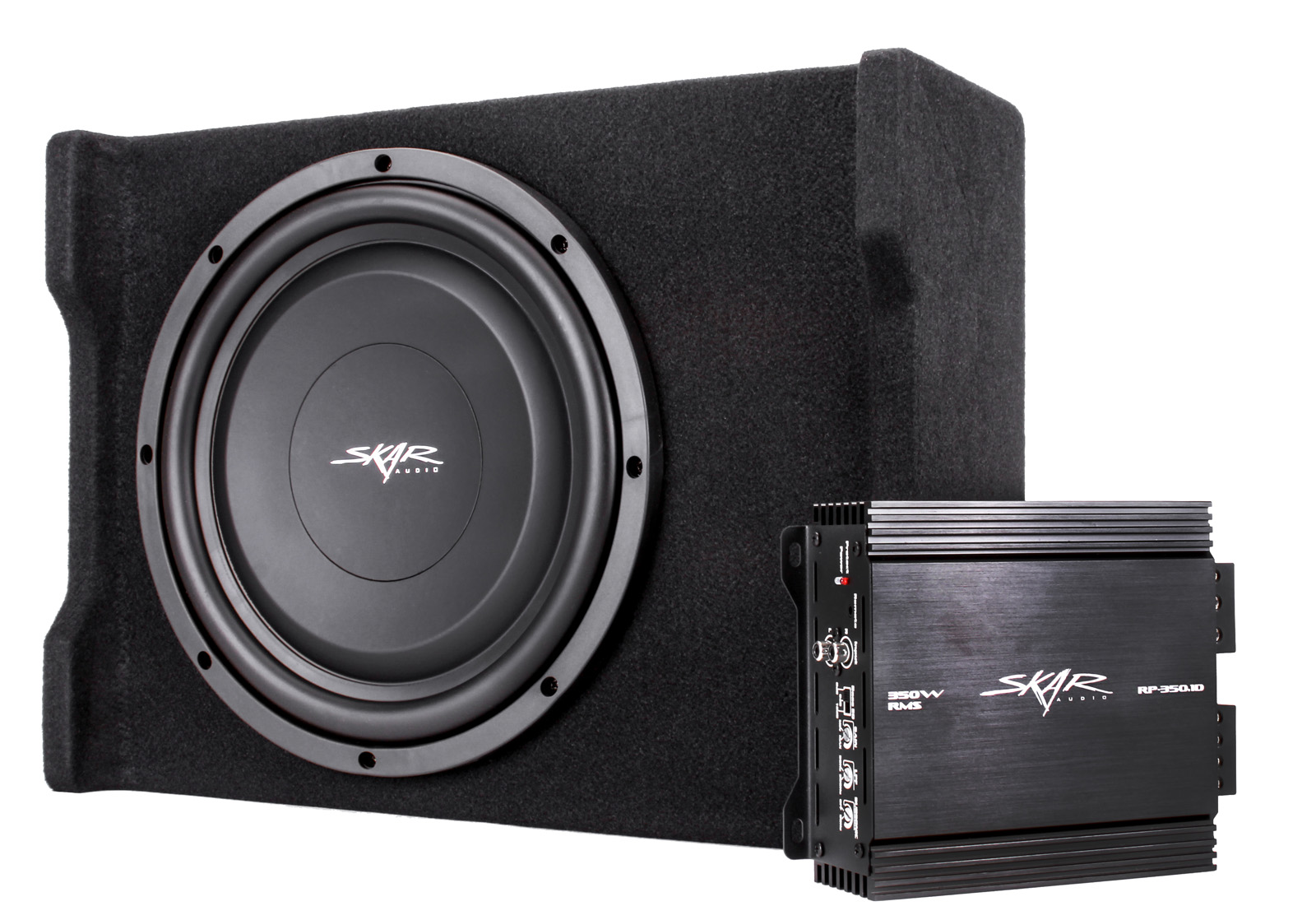 new skar audio single 12 quot 400w loaded bass package with amplifier and wiring ebay