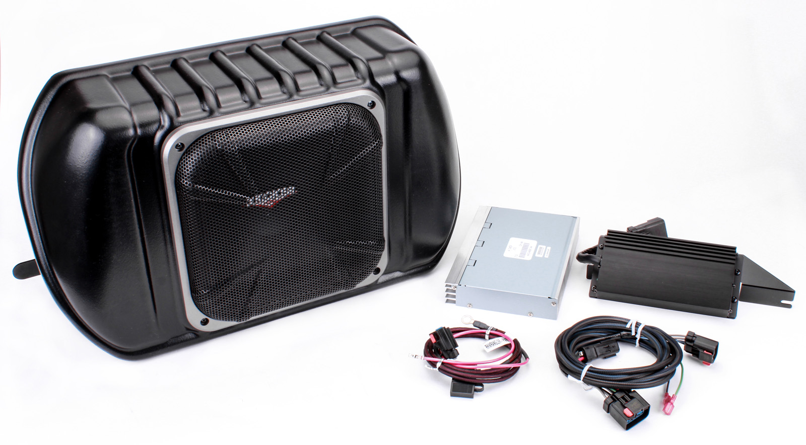 New Kicker Pwra4p0 Amplifier  U0026 Powered Subwoofer For 07