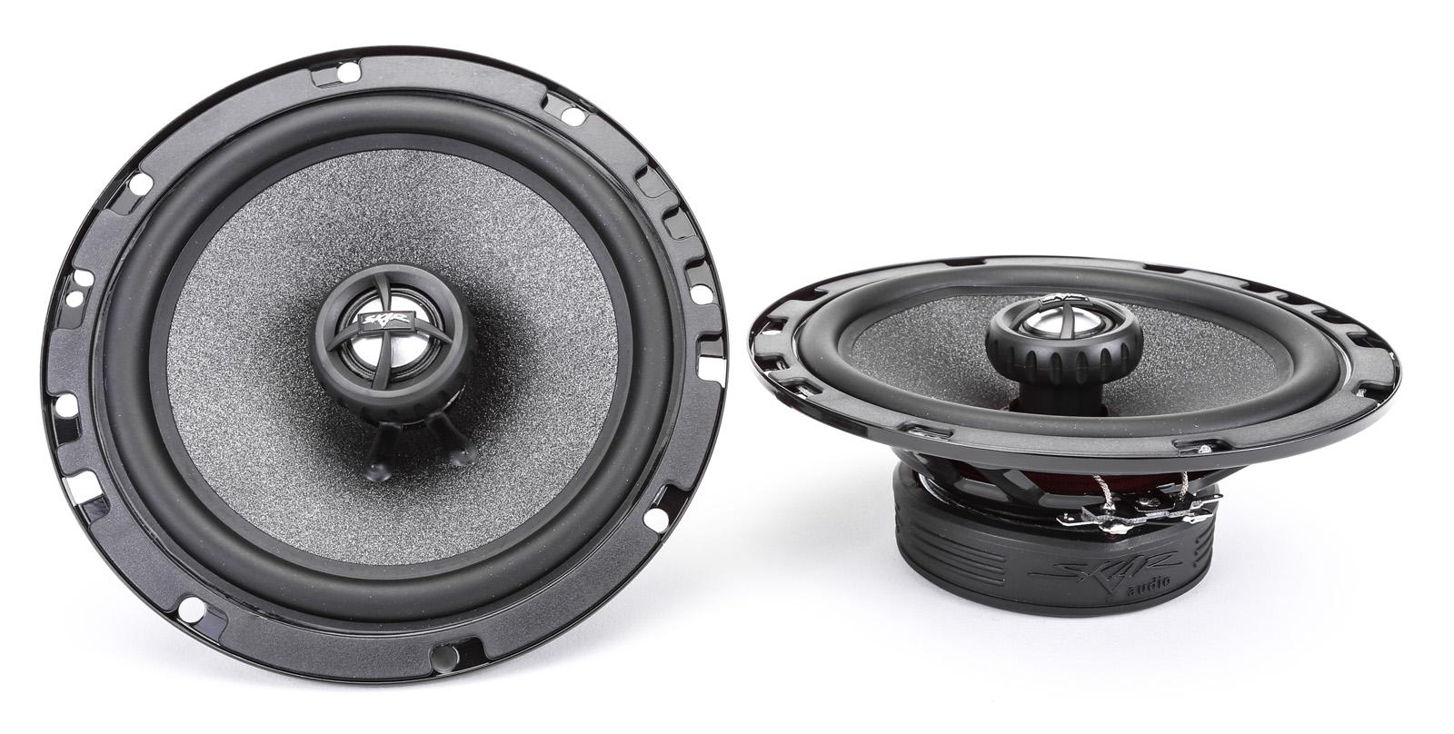 new skar audio 6 5 quot 200w 2 way car audio speaker system with 2 baffles included ebay